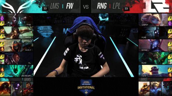 【战报】RNG后期发力确保全胜